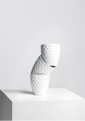 Dibçək Scheurich Cover-Pot Alaska Weiss 2