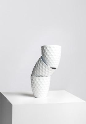 Горшок Scheurich Cover-Pot Alaska Weiss 2