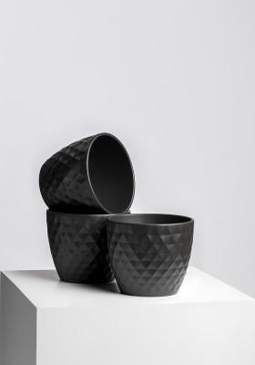 Горшок Scheurich Cover-Pot Anthrazit