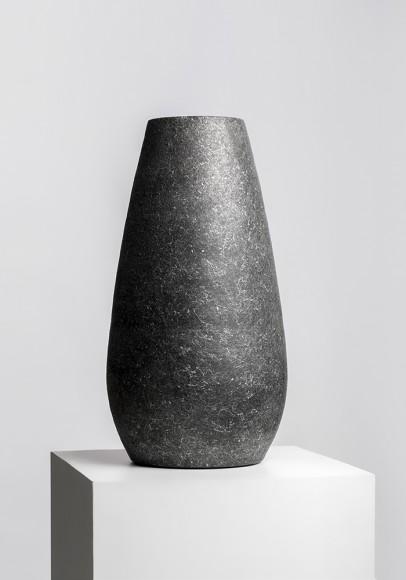 Dibçək Classico Vase Gravity Black Marble